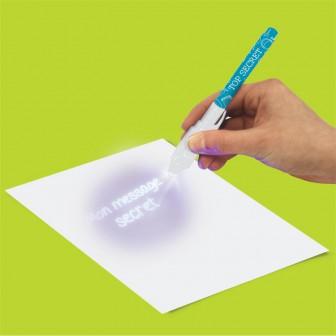 Stilou cerneala invizibila + LED